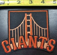 """San Francisco Giants 4.75"""" Iron/Sew On Embroidered Patch FREE SHIPPING FROM U.S."""