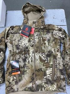 KRYPTEK Vellus Fleece Jacket Highlander Medium, NWT