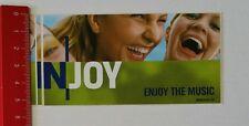Aufkleber/Sticker: N-Joy Enjoy The Music (140217141)