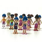 Random 10pcs LEGO Friends Fashion Girls Minifigure Mixed color building part