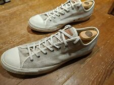Converse All Star Chuck Taylor Light Grey Canvas Low Top Shoes  Size 12 Men's
