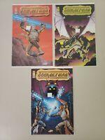 Journeyman 1 2 3 1999 Image Complete Set Series Run Lot 1-3 VF/NM