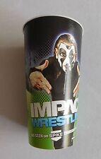 "2 x NEW 32oz TNA IMPACT WRESTLING ""JEFF HARDY"" HARD PLASTIC SOUVENIR CUPS"