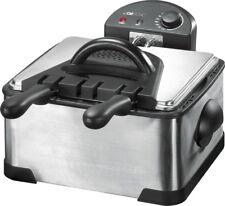 Clatronic Fritteuse Doppel-Friteuse Fritöse Ftittöse frittieren f.Pommes FR 3195