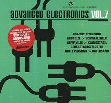 ADVANCED ELECTRONICS 7 - 2CD+DVD - (Pitchfork, Alphaville, Agonoize,..)