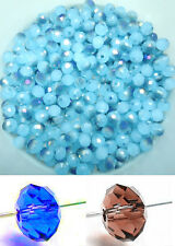 Free ship 100 PCS swarovski crystal 3x4mm 5040# Rondelle Beads