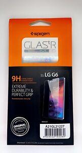Genuine Spigen GLAStR Tempered Glass Screen Protector for LG G6