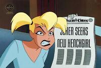 Batman Animated Series Original Production Cel Harley Quinn-Jokers Millions