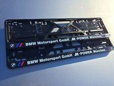 Kennzeichenhalter Nummernschildhalter Kennzeichenhalterung BMW E39 E46 E53 M3 M5