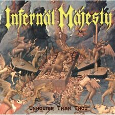 INFERNAL MAJESTY - Unholier than Thou Re-Release CD, NEU