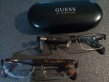 Guess 1599 New Men Semi Rimless 54-18 col Black / grey 2) Black with tortoise