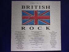 British Rock    original Recordings  4 CD box set  New Factory sealed