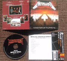 METALLICA - Master of puppets MINI-LP JAPAN CD (Thrash Metal, Heavy Metal)