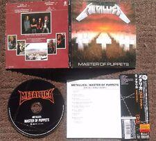 METALLICA - Master of puppets MINI-LP JAPAN CD (Thrash Metal, Heavy Metal)