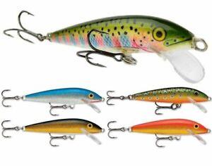 Rapala Original Floating // F05 // 5cm 3g Fishing Lures (Various Colors)