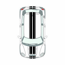 For MINI Cooper R56 2006 - 2014 Stripes Full Kit VINYL STICKER DECAL Graphics