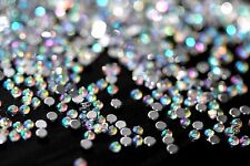 500 St. 1,5 mm Strasssteine mit Diamant Effekt im Zippbeutel Nageldesign