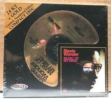 AUDIO FIDELITY GOLD CD AFZ-100: Stevie Wonder - Music of My Mind 2010 USA SEALED