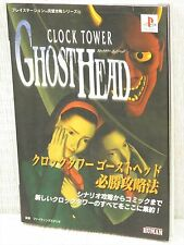 Horloge Tower Fantôme Head Guide Ps Livre FT97