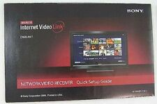 SONY BRAVIA INTERNET NETWORK VIDEO LINK DMX-NV1 OPEN