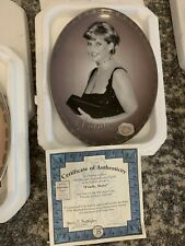 """Bradford Exchange """"Fondly, Diana� Diana Collector's Plate - 1998"""