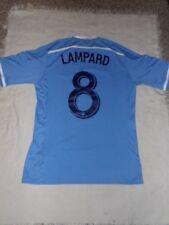 MLS NY City FC Men's Soccer Jersey #8 Frank Lampard Size Small NWT