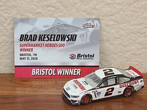 2020 #2 Brad Keselowski Discount Tire Bristol Win AS1 1/64 NASCAR Diecast Loose
