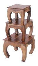 Brand New Mumbai - Indian Solid Sheesham Wood - NEST OF TABLES 3    JONT