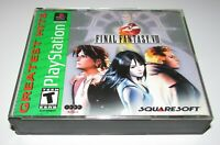 Final Fantasy VIII for Playstation PS1 Complete Fast Shipping!