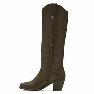 Mossimo Maureen Femmes Shearling Style Bottes noires fourrure synthétique taille 8.5 neuf