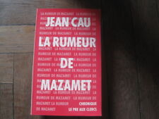 Jean CAU: la rumeur de Mazamet