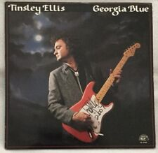 "Autographed/Signed Tinsley Ellis ""Georgia Blue"" Vinyl"