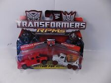 TRANSFORMERS RPM BATTLE SERIES 2 ENFORCER IRONHIDE VS MIXMASTER SEALED MOC