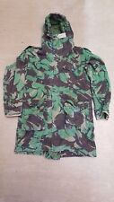 British Army Issue Falklands Woodland DPM Cold Weather Parka Jacket Size 180/96