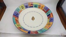 "Hard to Find Royal Doulton Trailfinder TC1245 13 1/2"" Pasta / Salad Serving Bowl"
