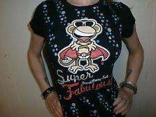 ORIGINAL BOBBY JACK T SHIRT Super Fabulous Superhero Disco Sunglasses Monkey