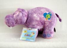 NWT  Webkinz Full Size HIPPIE HIPPO  w/ code  FREE US SHIPPING