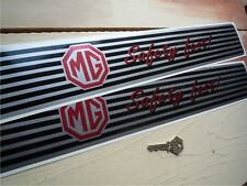 MG SAFETY FAST Kickplate Sill protector vinyl Stickers