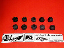 10 x  Entlüfterventil  Entlüfterschraube  Entlüftungsventil  Gummi  Schutzkappe