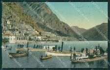 Brescia Limone PIEGHINA cartolina QK7074