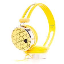 Love coeur enfants childs gaming casque réglable FR Wii U PSP 3DS NDSL jaune