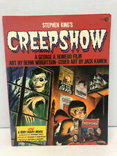 Stephen King/Creepshow/George A. Romero soft cover book FIRST ED.