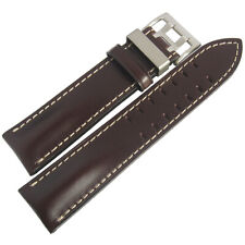 22mm Di-Modell Offroad Mens Brown Leather Pilot German Made Watch Band Strap