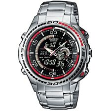 Casio Edifice Herrenuhr EFA-121D-1AVEF Armbanduhr Analog Digital black NEU & OVP