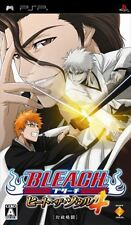 Used PSP Bleach  Heat the Soul 4 SONY PLAYSTATION JAPAN IMPORT