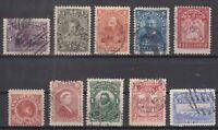 BD5723/ CANADA – NEWFOUNDLAND – 1894 / 1910 USED CLASSIC LOT – CV 150 $