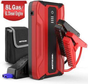 ⚡ Portable Voiture Jump Starter 1500A Pic 18000mAh Puissance Pack Auto Batterie