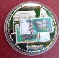 REPUBLIC OF LIBERIA TEN DOLLARS NOTRE MONNAIE DISPARAIT SUPERBE
