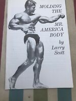 Molding The Mr America Body By Larry Scott Pamphlet