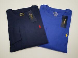 New Genuine Polo Ralph Lauren Cotton Long SL Jersey Crewneck T-Shirt 10/14 Boys